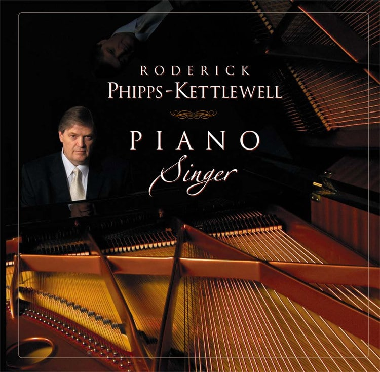 Piano Singer - CD - Cover